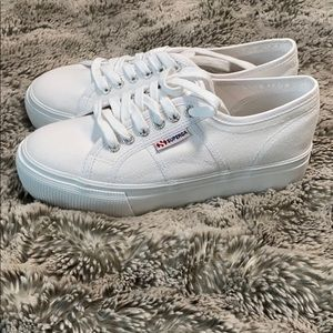 NIB Superga Platform Sneakers